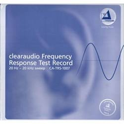 Clearaudio Frequency Response Test Record CA-TRS-1007