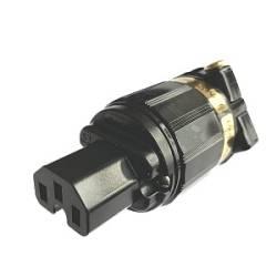 IeGo Reinsilber IEC-Stecker groß