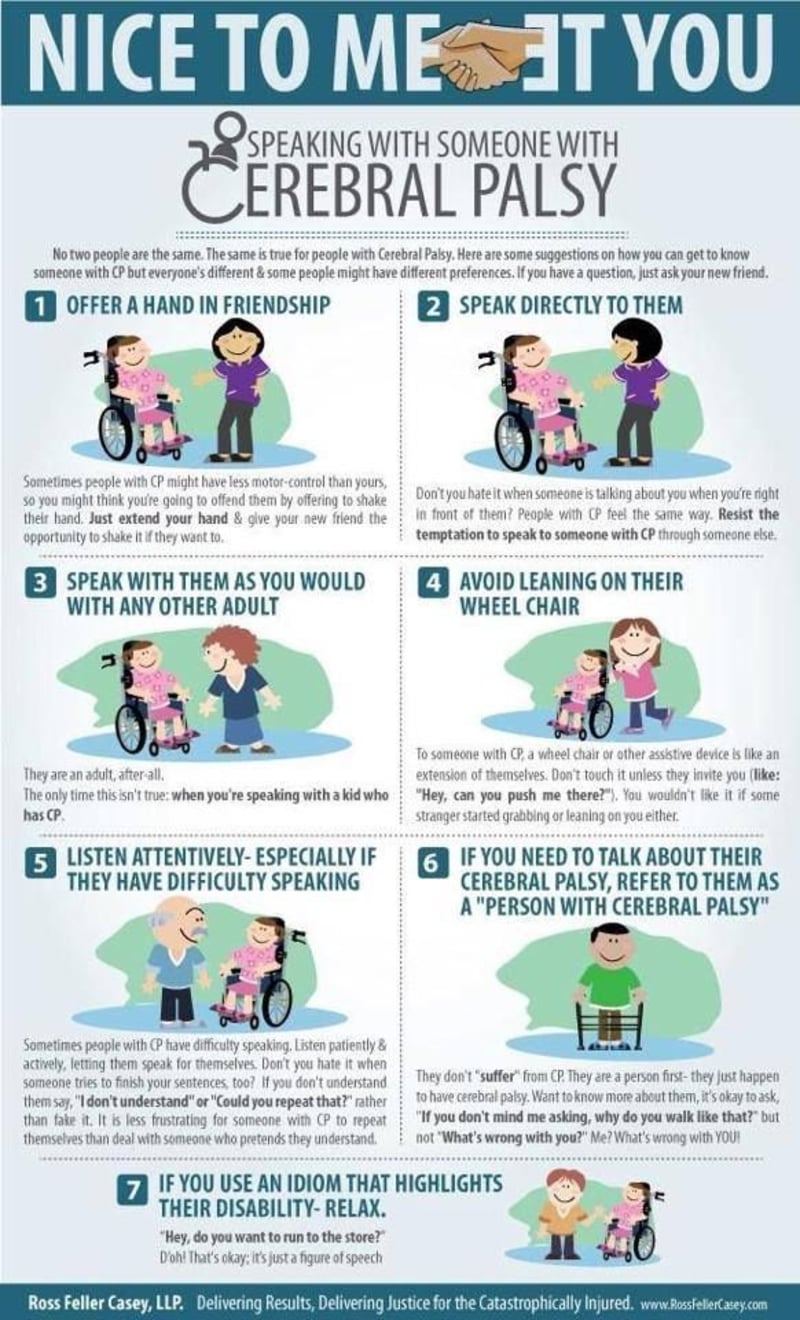 Meet Someone with Cerebral Palsy