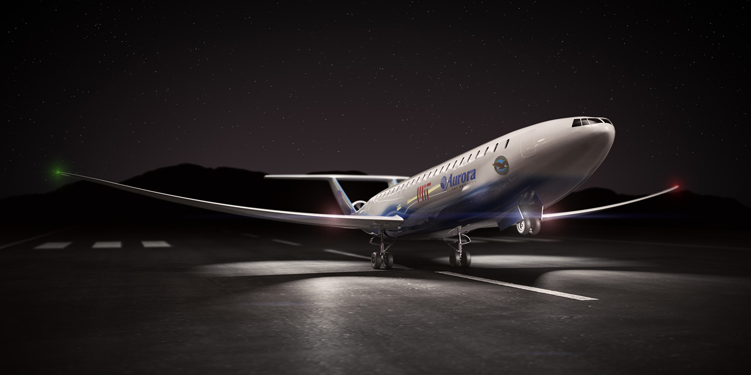 Aurora Flight Sciences – 3D Rendering