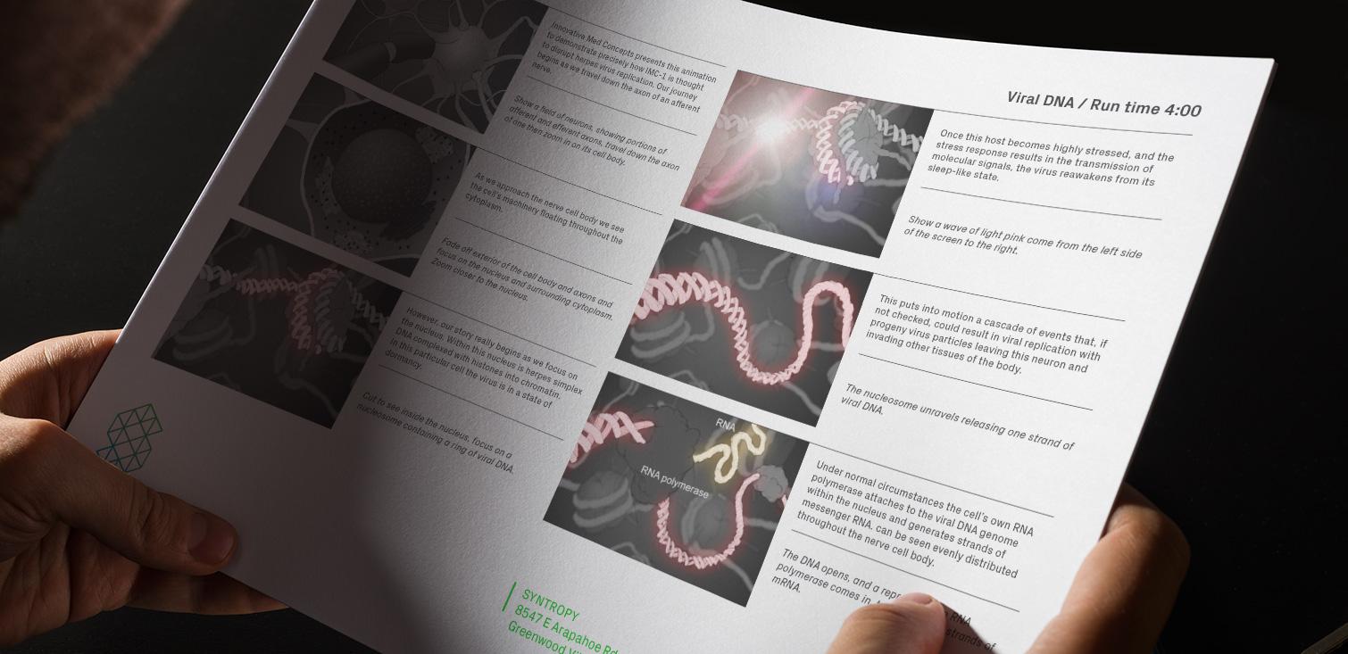 Viral DNA - Visual Storyboards