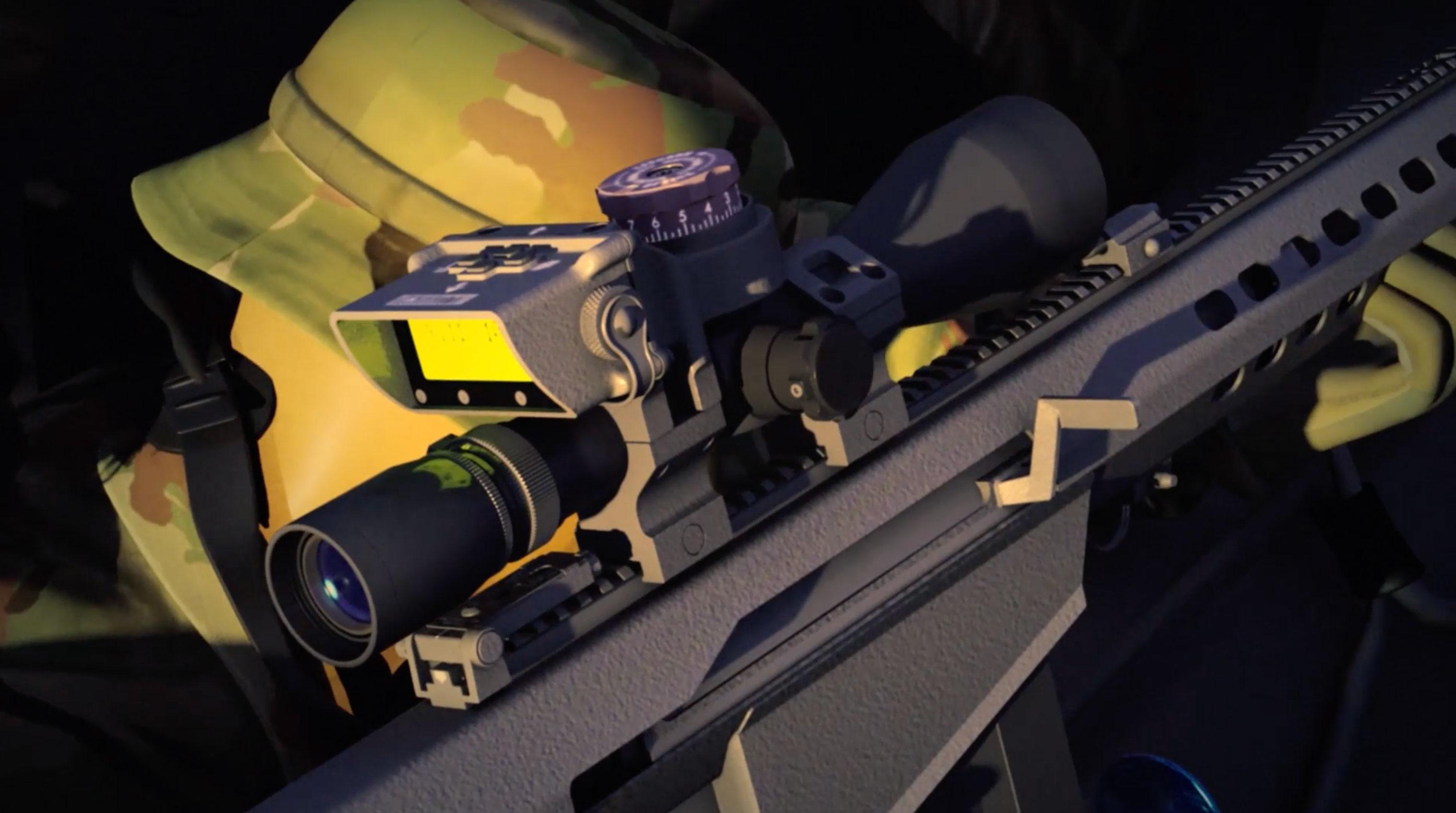 Bal Seal Engineering – Sniper Rifle 3D Rendering