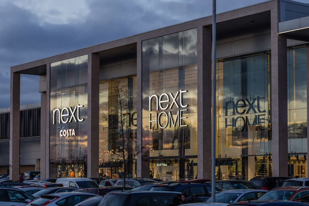 Ground External Image of the new Next store in Greenwich