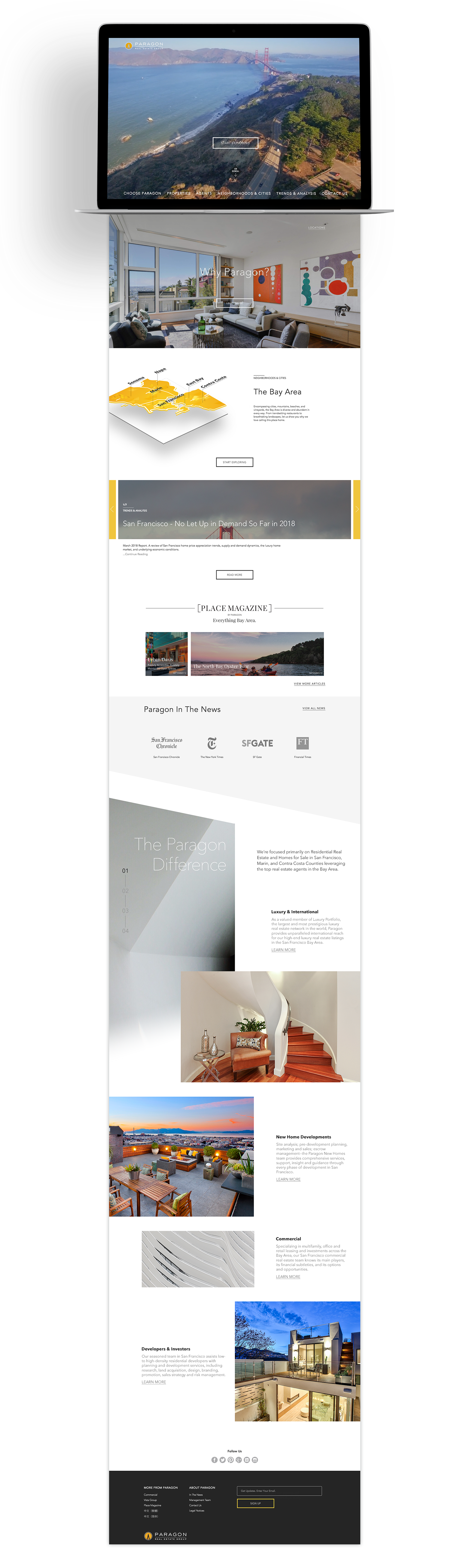 Realtor & Real Estate Web Design | HIGH SEAS