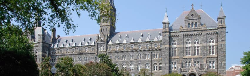 Founded In 1789 Georgetown University Is The Oldest Catholic And Jesuit United States School Offers Undergraduate Graduate