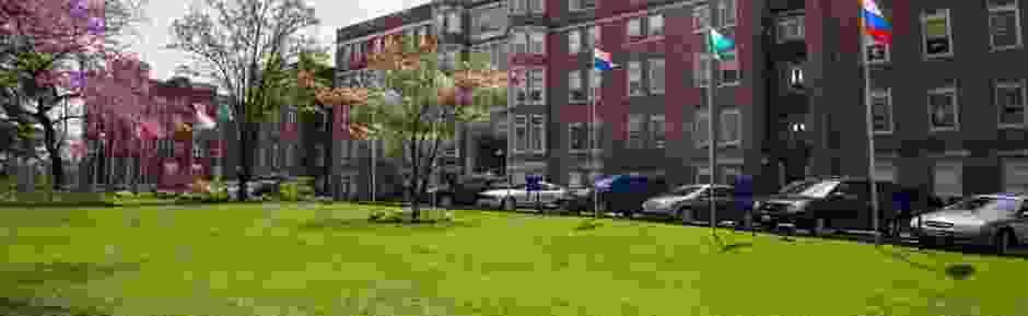Webster University campus image