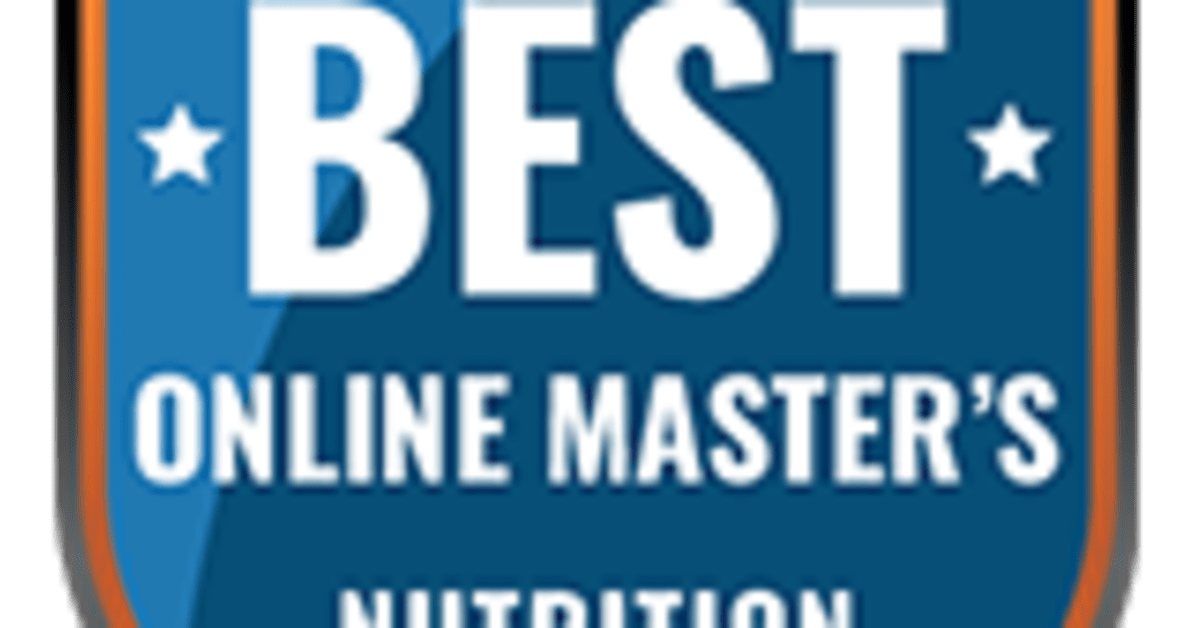 The Best Online Master's in Nutrition