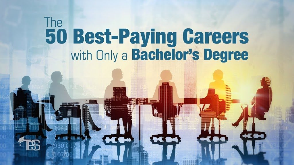 50 Best Paying Careers With Only A Bachelor S Degree