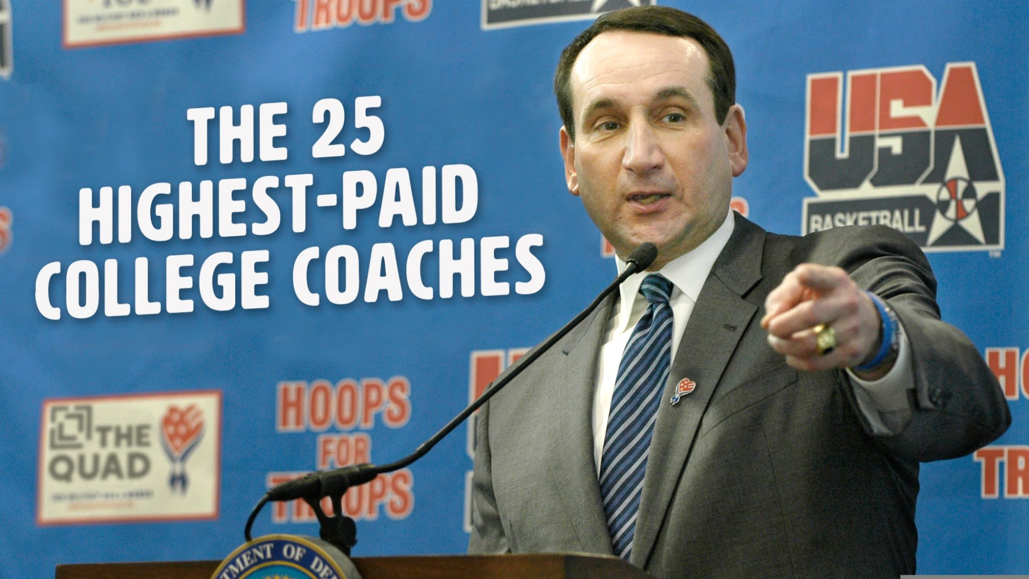 The 25 Highest Paid College Coaches Of 2019