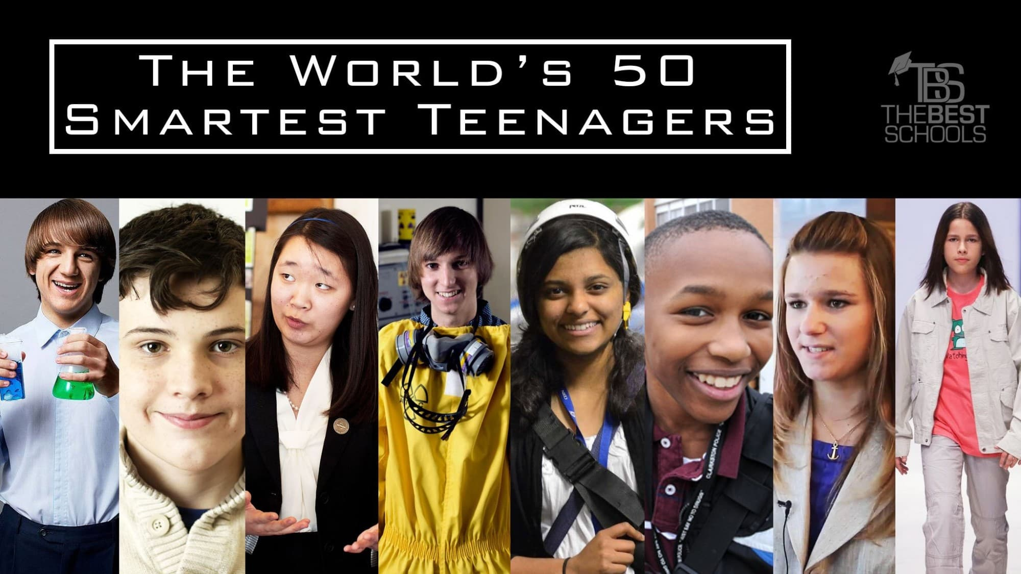 The Worlds 50 Smartest Teenagers