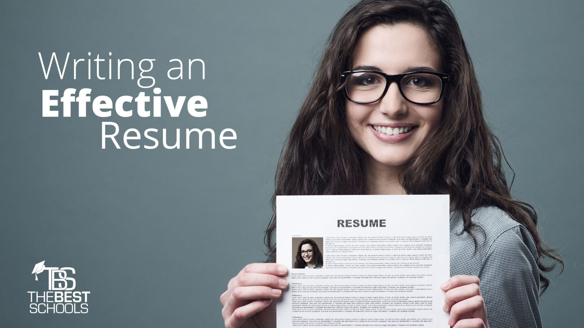 writing an effective résumé