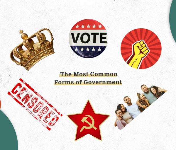 Cheat Sheet: 10 Common Forms of Government