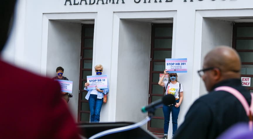 How Anti-Trans Legislation Affects College Students
