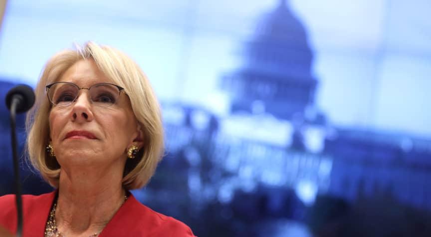 Education Secretary Betsy DeVos' Controversial Legacy