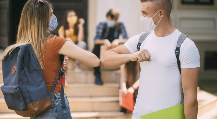 CDC Says Fully Vaccinated Campuses Can Go Back to Normal