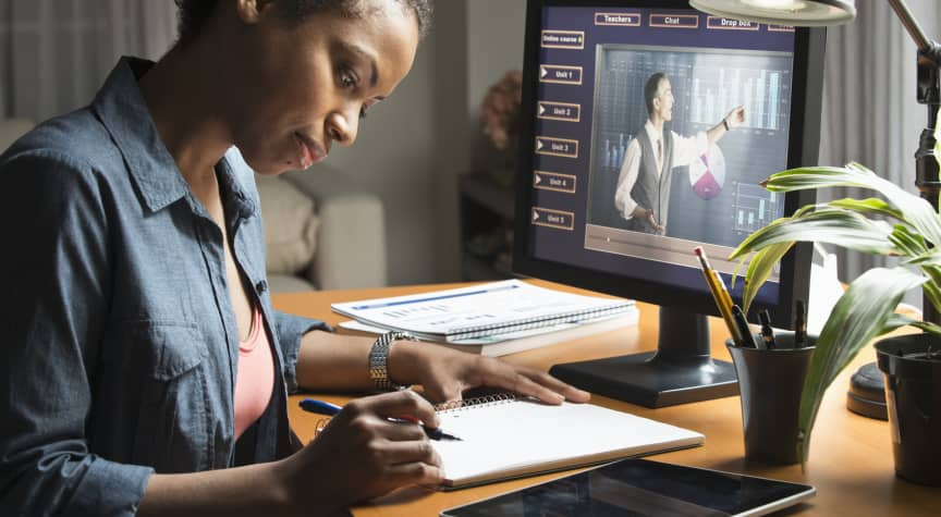 Half of Remote College Students Plan to Stay Online Post-Pandemic