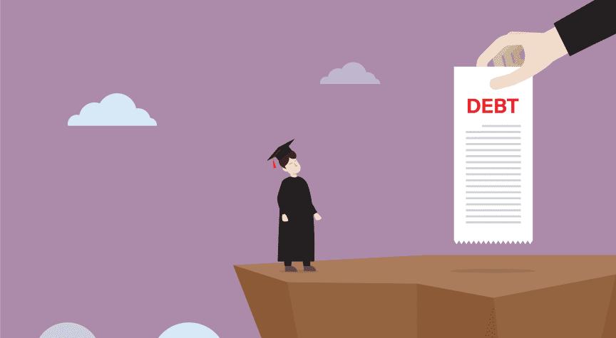 Master's Degrees Saddle Graduates With Debt