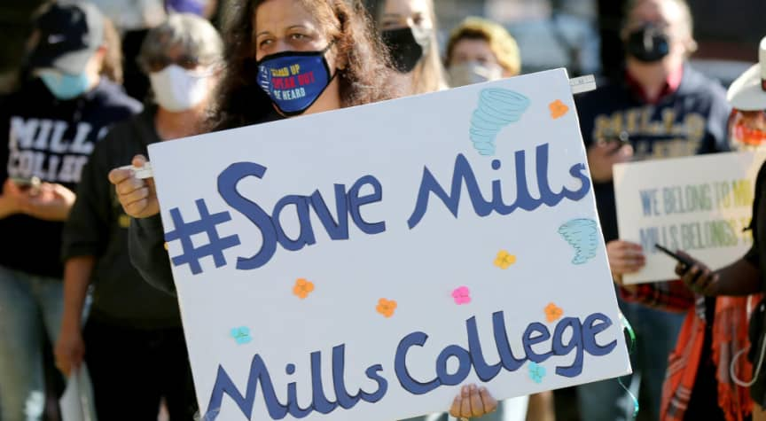 Mills College to Merge With Northeastern University