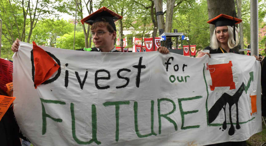 Harvard University Will Divest From Fossil Fuel Industry Because of Climate Change