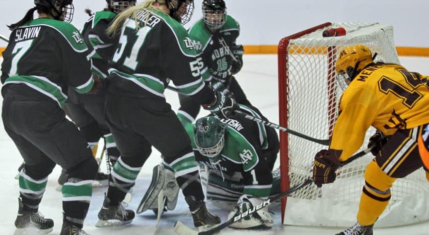 North Dakota Women's Hockey Program Gets New Life, for Now