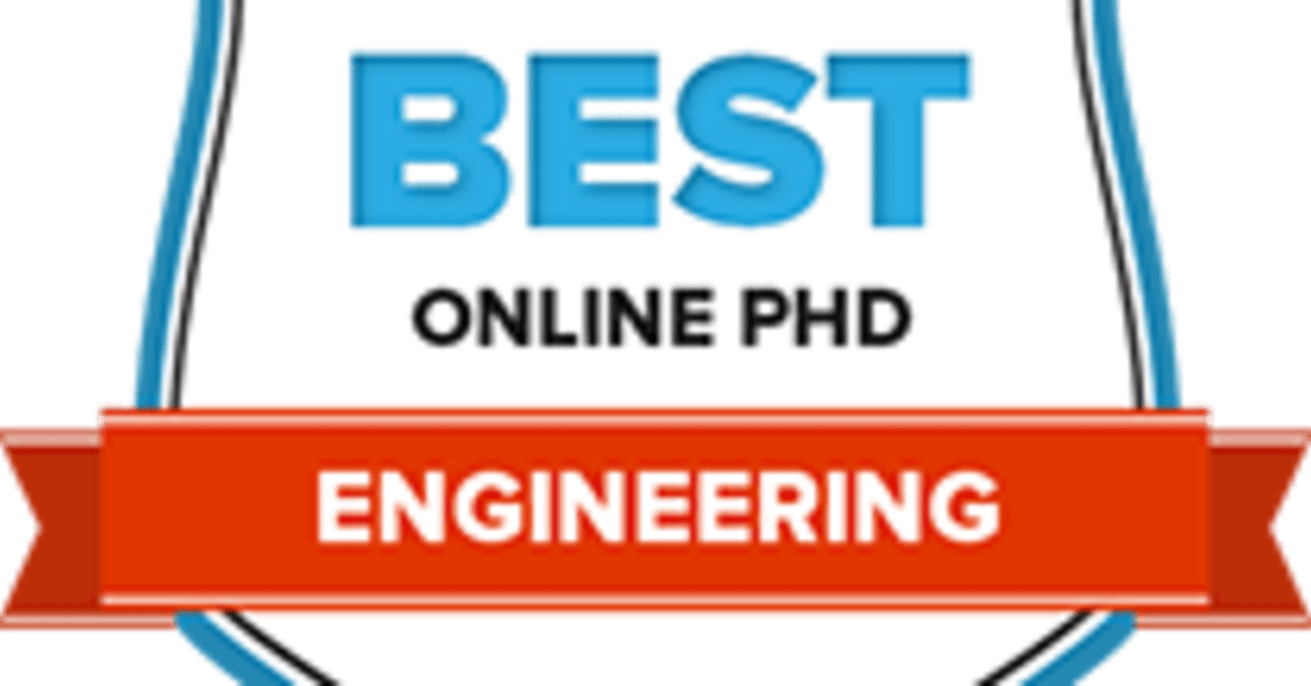 Search The 17 Best Online Phd In Engineering Programs Of 2018