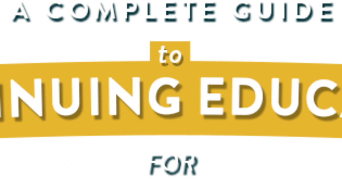 Continuing Education for Teachers | TeachTomorrow org