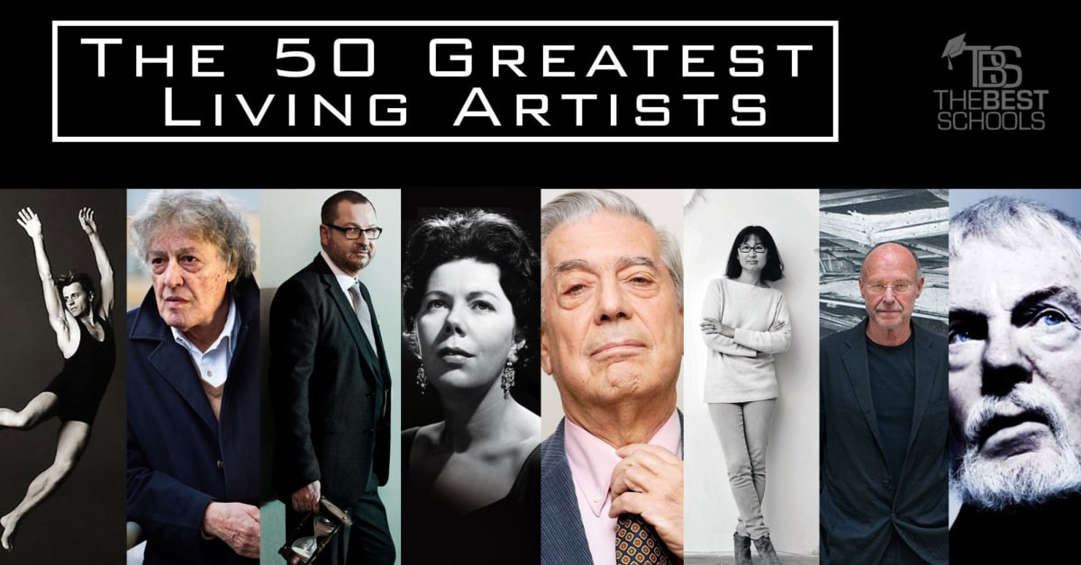 The 50 Greatest Living Artists Thebestschools Org