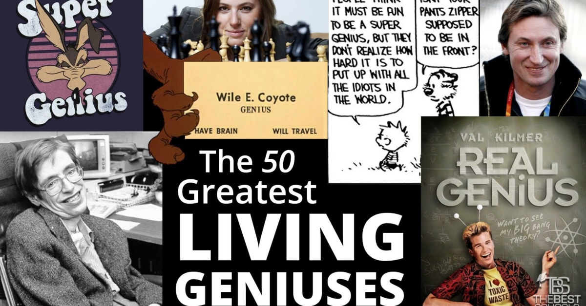 92566cffa9 The 50 Greatest Living Geniuses | TheBestSchools.org