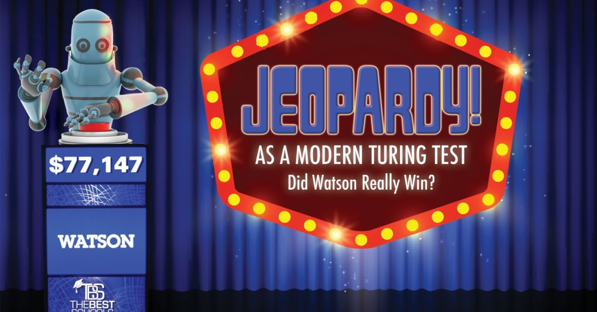Jeopardy! as a Modern Turing Test: Did Watson Really Win