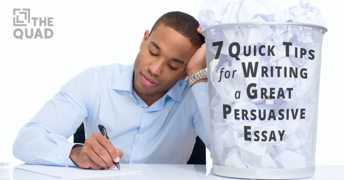 Great persuasive essays