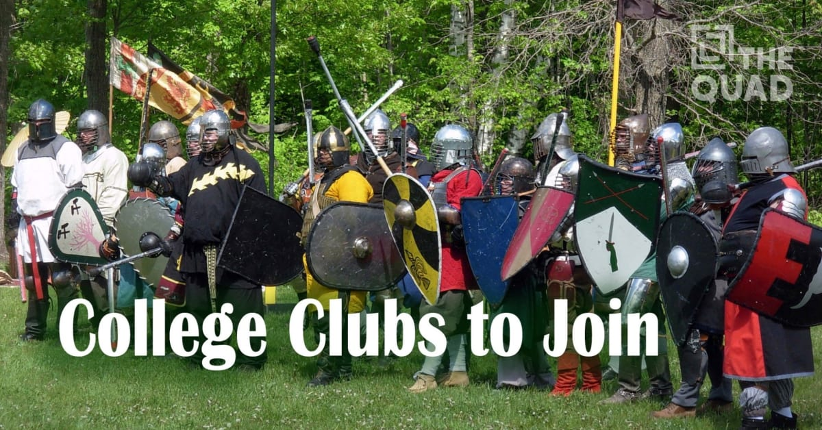 College Clubs to Join   The Quad Magazine