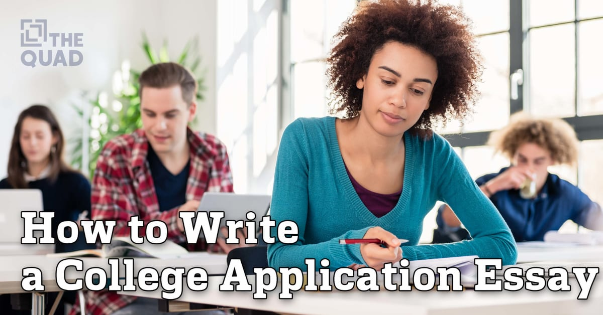 College admissions essay help 100