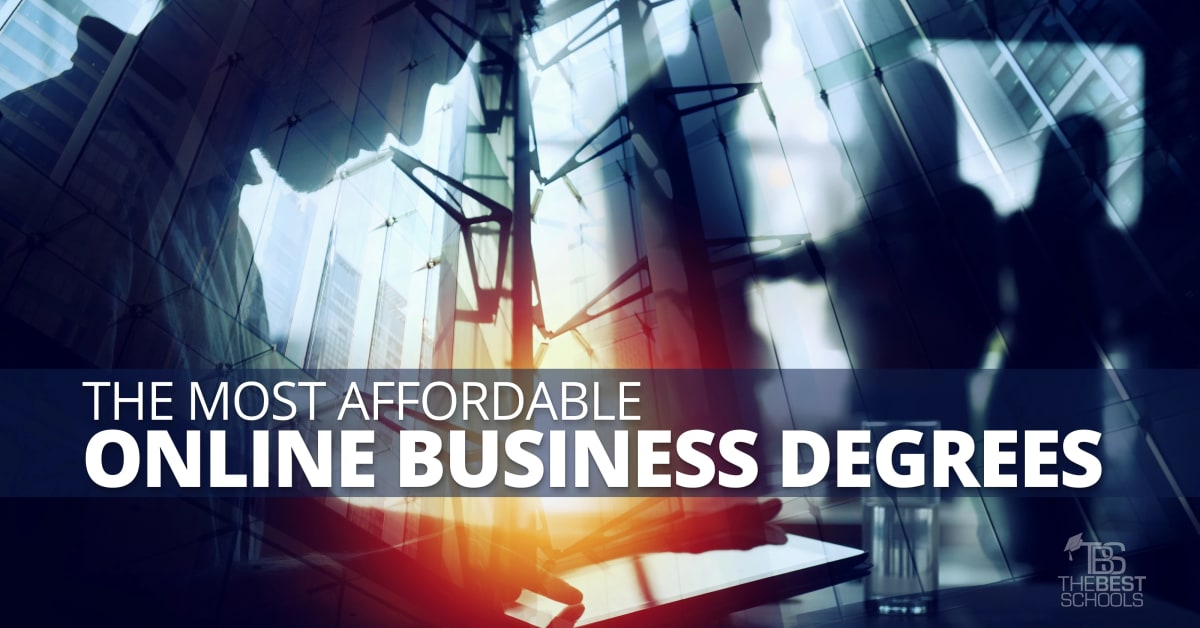 The Most Affordable Online Business Degrees
