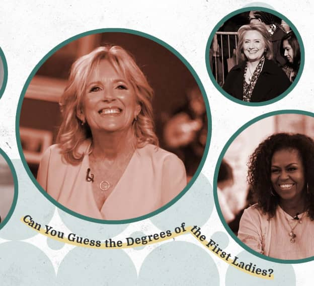 Can You Guess the College Degrees of the First Ladies?