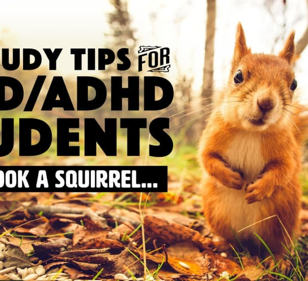 10 Study Tips for ADD/ADHD Students