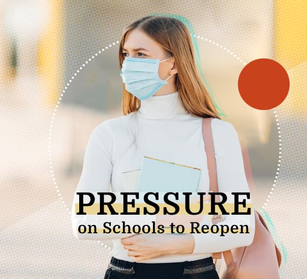 Hero Image - Pressure to Reopen: Colleges Weigh Student Safety With Financial Realities