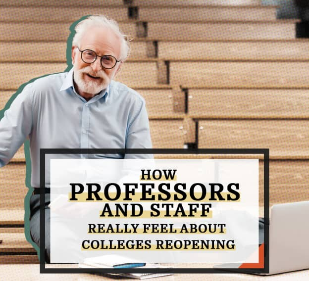 Hero Image - How Professors and Staff Really Feel About Colleges Reopening