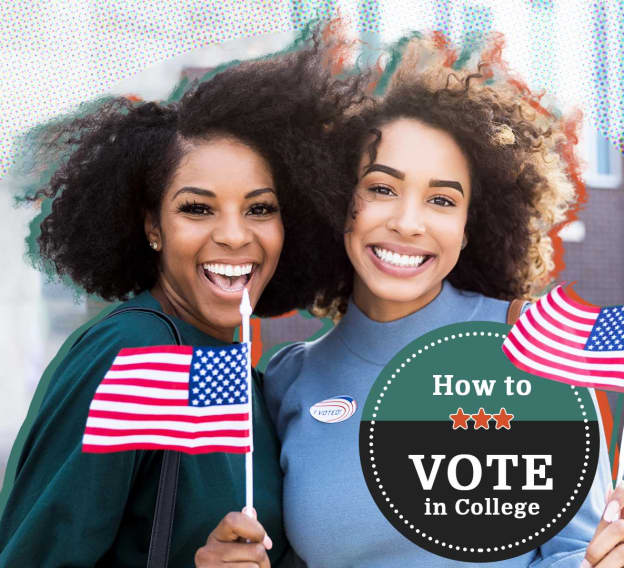 Hero Image - How to Vote in College