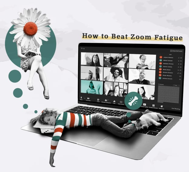 Hero Image - 6 Tips to Beat Zoom Fatigue