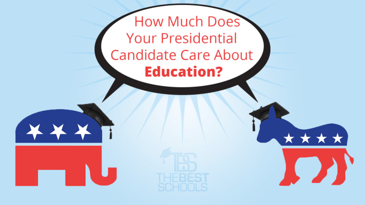 Precious Little Evidence That Vouchers >> How Much Does Your Presidential Candidate Care About Education