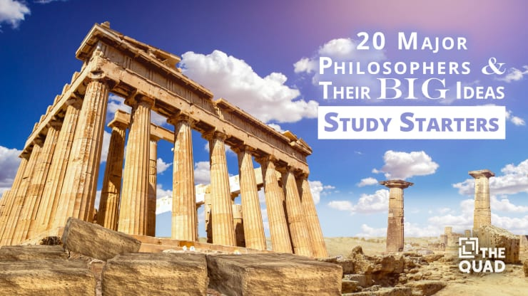 20 Major Philosophers & Their Big Ideas | The Quad Magazine