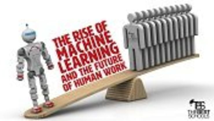 The Rise of Machine Learning and the Future of Human Work