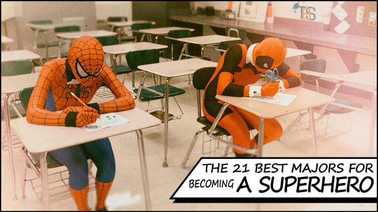 The 21 Best Majors For Becoming a Superhero | The Quad Magazine