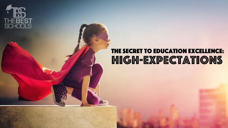 Education Department Sees Rise In >> The Secret To Education Excellence High Expectations The