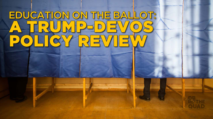 Education Issues At Stake As Senate >> Education On The Ballot A Trump Devos Policy Review The