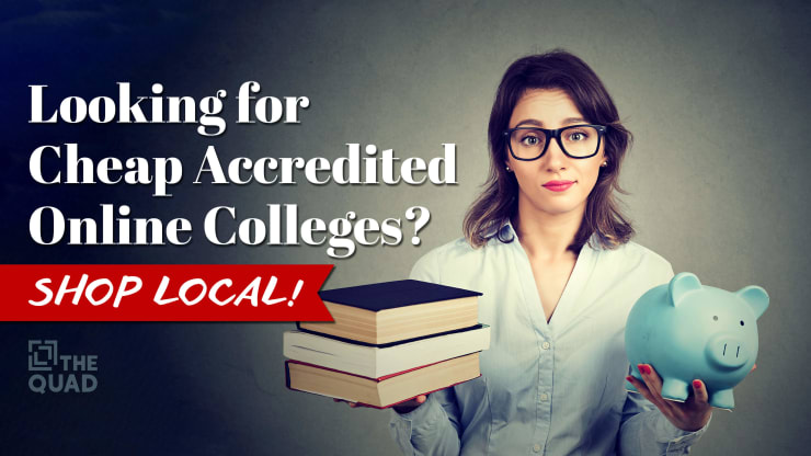 Accredited Online Colleges >> Looking For Cheap Accredited Online Colleges Shop Local