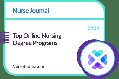 Top Online Nursing Degree Programs Badge