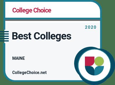 Best Colleges in Maine Badge
