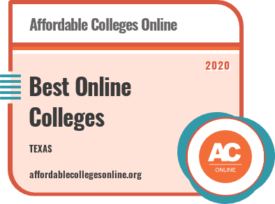 2020 Online Colleges In Texas