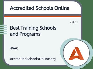 HVAC Training Schools and Programs badge